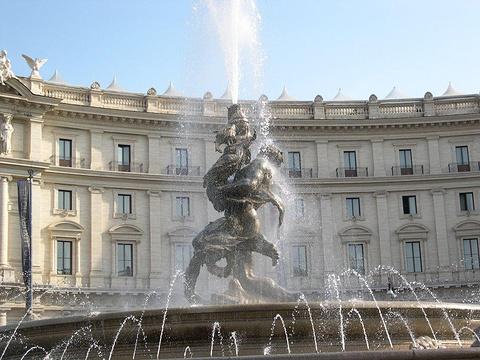 仙女喷泉的图片