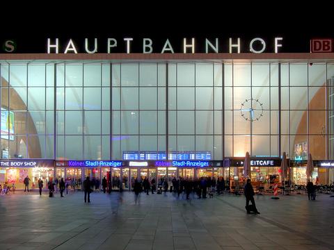 汉堡中央火车站旅游景点图片