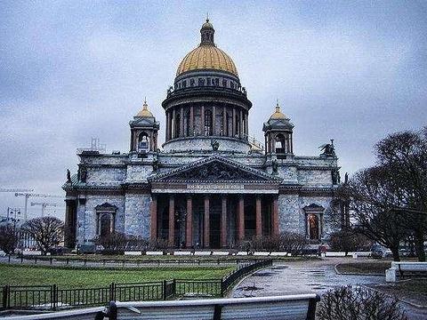 圣以撒大教堂旅游景点图片