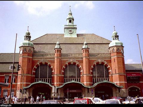 吕贝克火车站旅游景点图片
