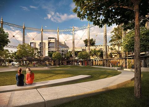 Gasworks Plaza
