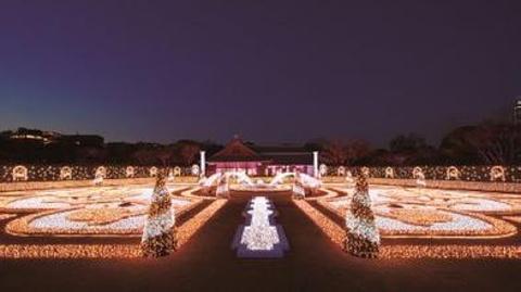 大阪城西之丸庭园的图片