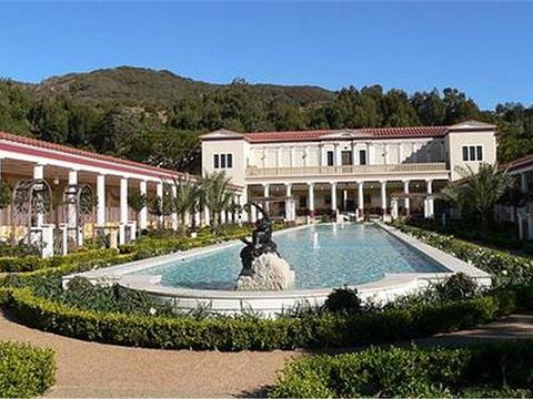 盖蒂别墅博物馆旅游景点图片
