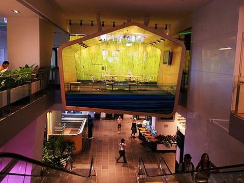 布里斯班广场图书馆旅游景点图片