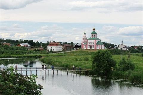 苏兹达尔-莫斯科,冬日童话式的冰冷与温柔