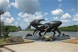 甲米大螃蟹雕塑