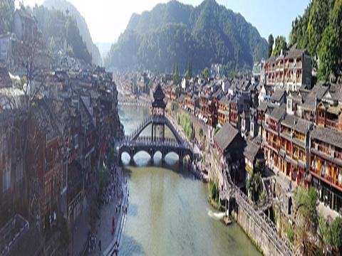 营盘苗寨旅游景点图片