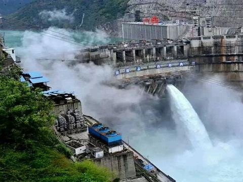 溪洛渡水电站旅游景点图片