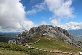 石卡雪山观景台