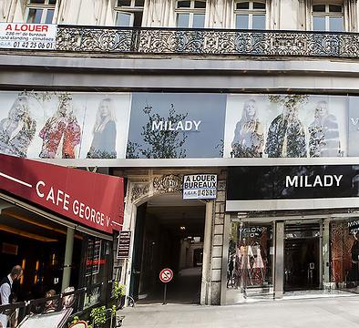 Milady皮草香榭丽舍大街店