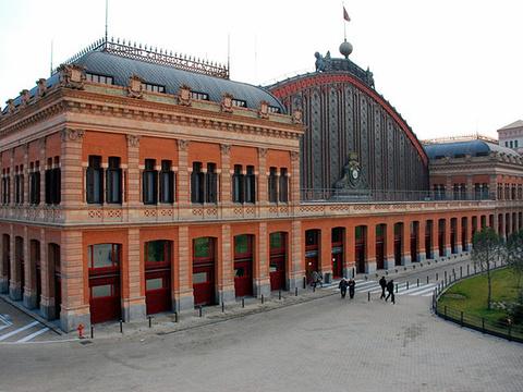 马德里火车站旅游景点图片