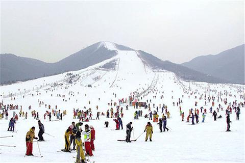 西柏坡温泉滑雪场的图片
