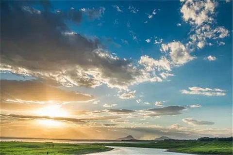 中山湖的图片