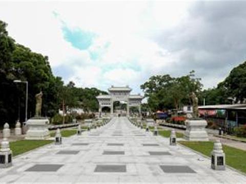 昂坪广场旅游景点图片
