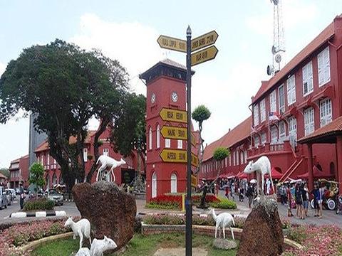 马六甲钟楼旅游景点图片