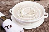 法式培根奶油蘑菇汤
