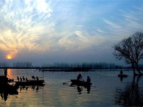 固城湖旅游景点图片
