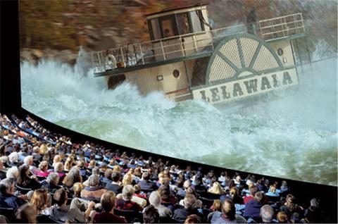 尼亚加拉IMAX影院探索瀑布