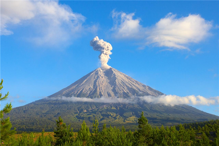 日惹寺庙火山一日游