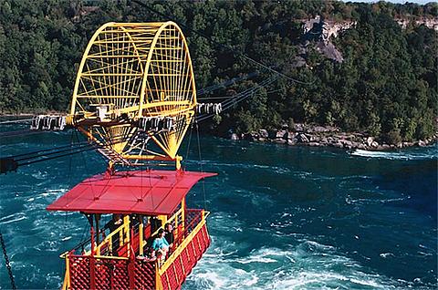 尼亚加拉漩涡高空观光缆车