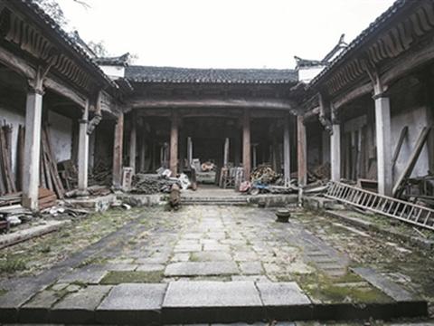 张氏宗祠旅游景点图片