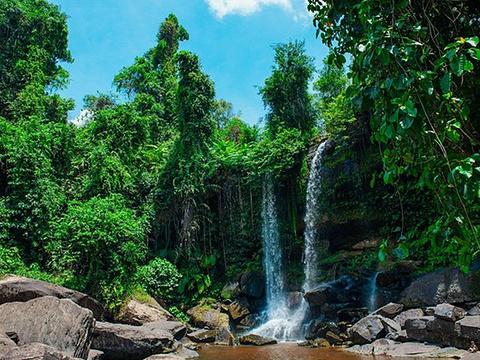 荔枝山瀑布旅游景点图片