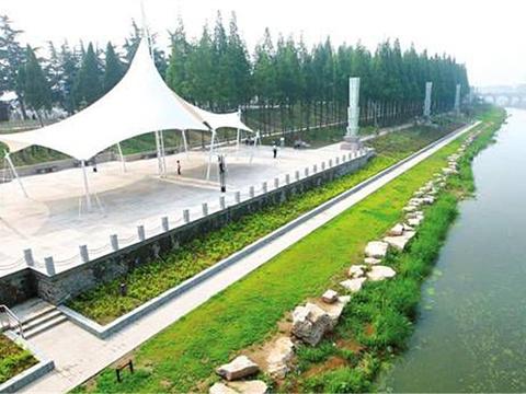 濉河公园旅游景点图片