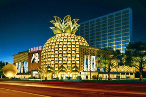 金菠萝购物中心