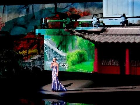 《梦回江南》裸眼3D山水实景演出