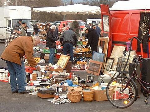 跳蚤市场旅游景点图片
