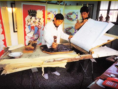 杨柳青年画作坊旅游景点图片