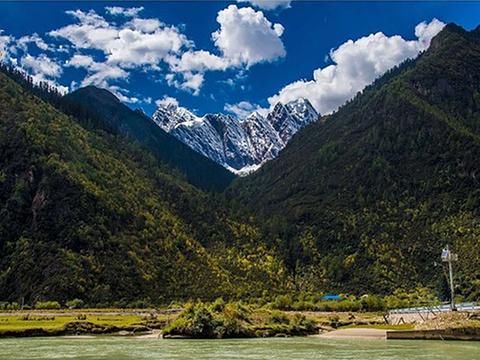 麦措姆村旅游景点图片