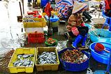 涠洲岛菜市场