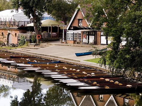 Cherwell桥船屋撑蒿旅游景点图片
