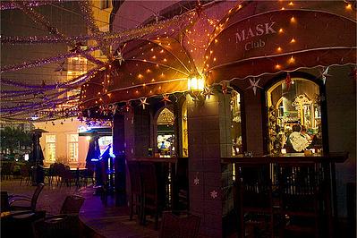 欧陆风情酒吧街