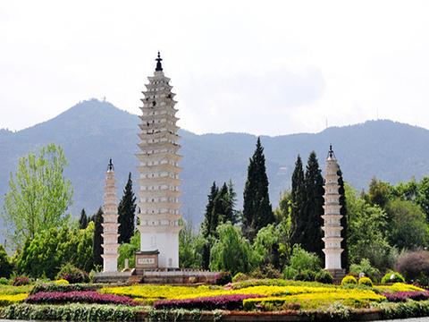白族村旅游景点图片