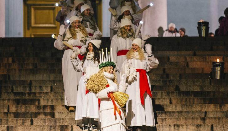 露西亚游行(Lucia Parade)