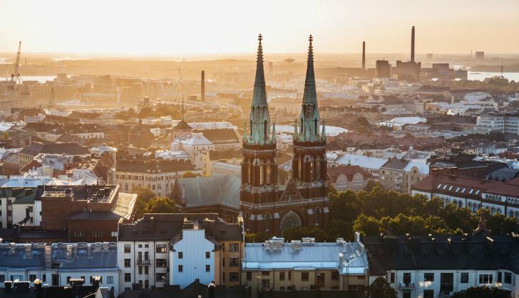 赫尔辛基充实一日游