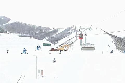 富龙滑雪场的图片