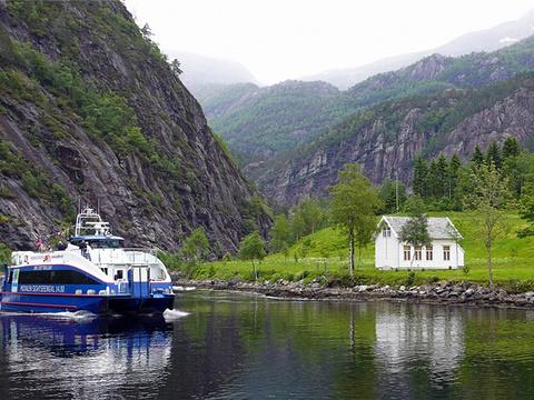 Mostraumen巡航旅游景点图片
