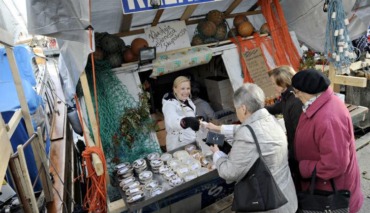 波罗的海鲱鱼集市
