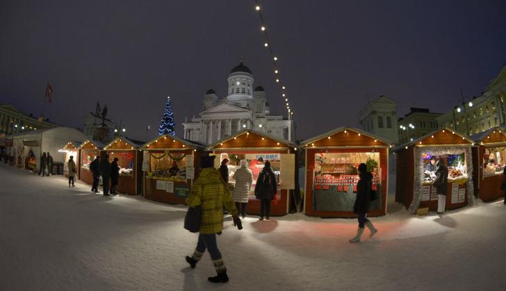 赫尔辛基圣诞集市(Helsinki Christmas Market)
