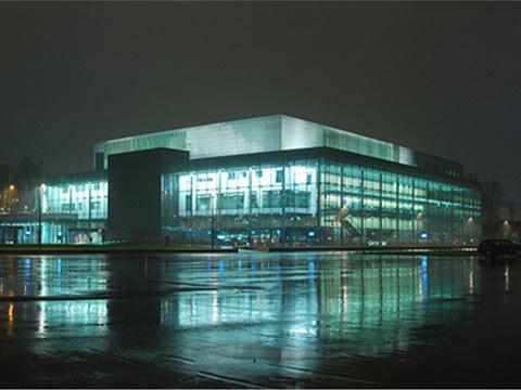 赫尔辛基音乐中心旅游景点图片