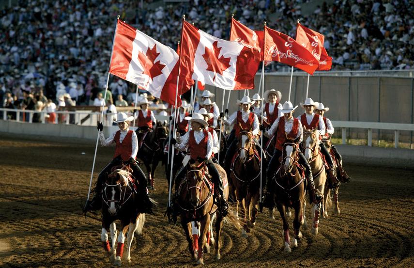 卡尔加里牛仔节(Calgary Stampede)