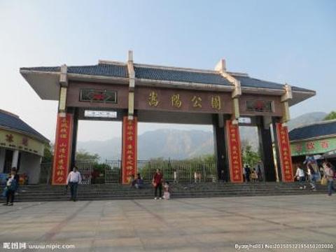 嵩阳公园旅游景点图片