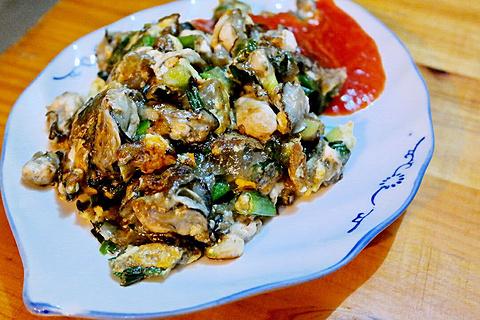 莲欢海蛎煎的图片