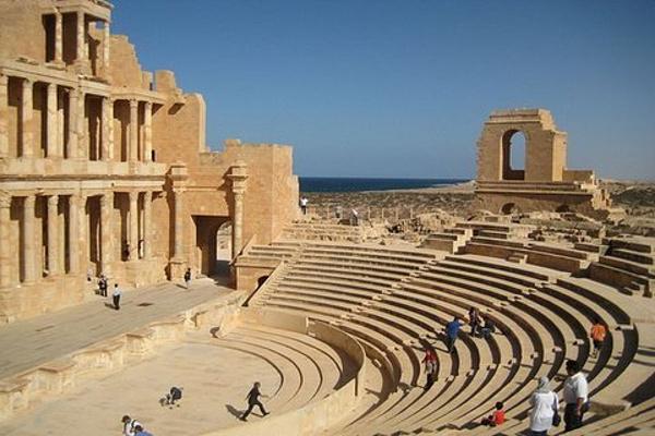 亚历山大罗马剧场旅游图片