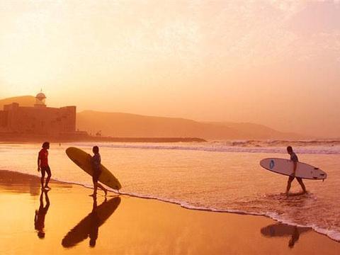Playa de Las Canteras旅游景点图片