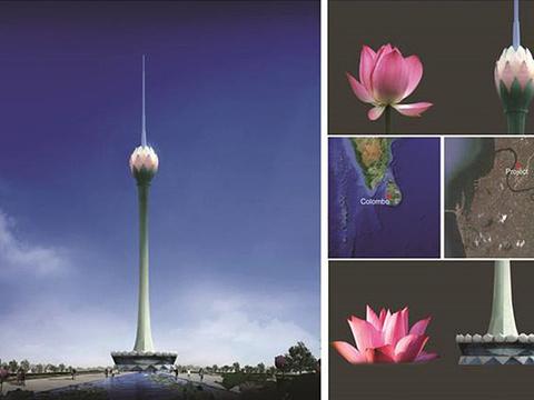 莲花电视塔旅游景点图片