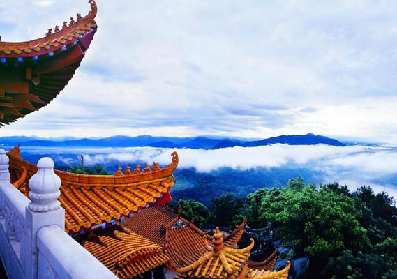 苏仙岭旅游图片